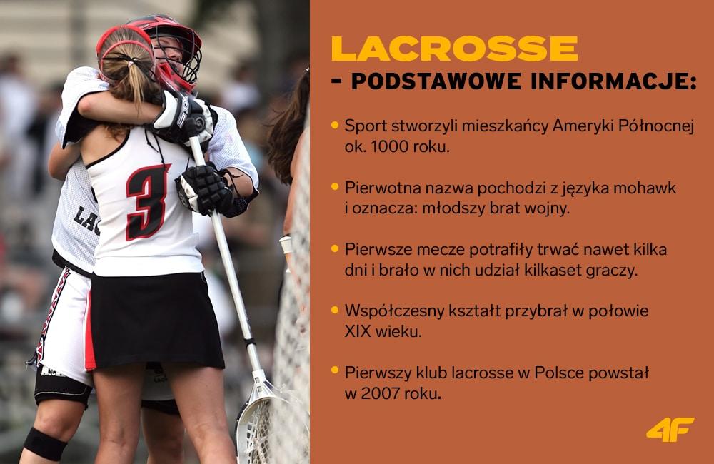 lacrosse - podstawowe informacje