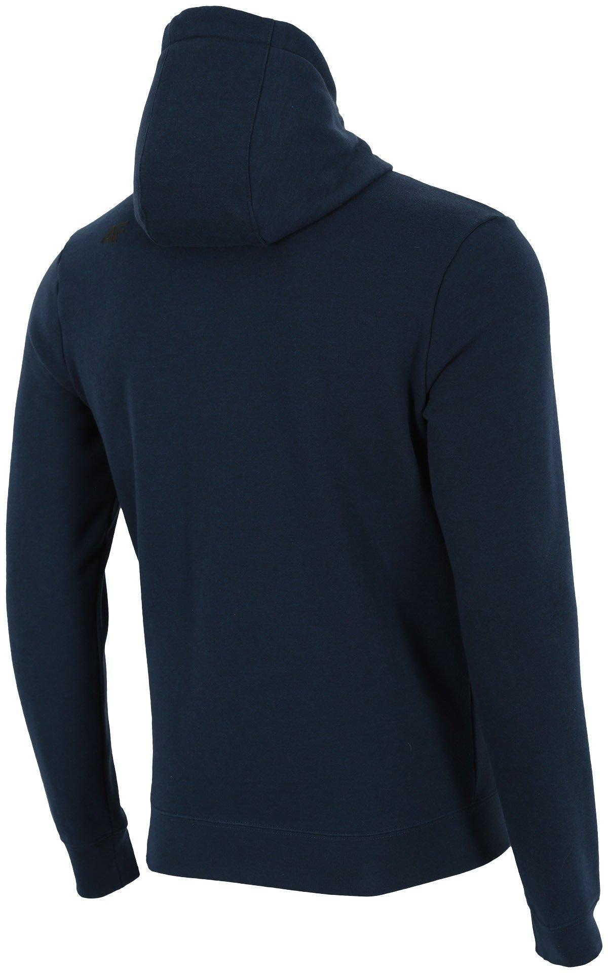 Bluza męska BLM300 denim melanż
