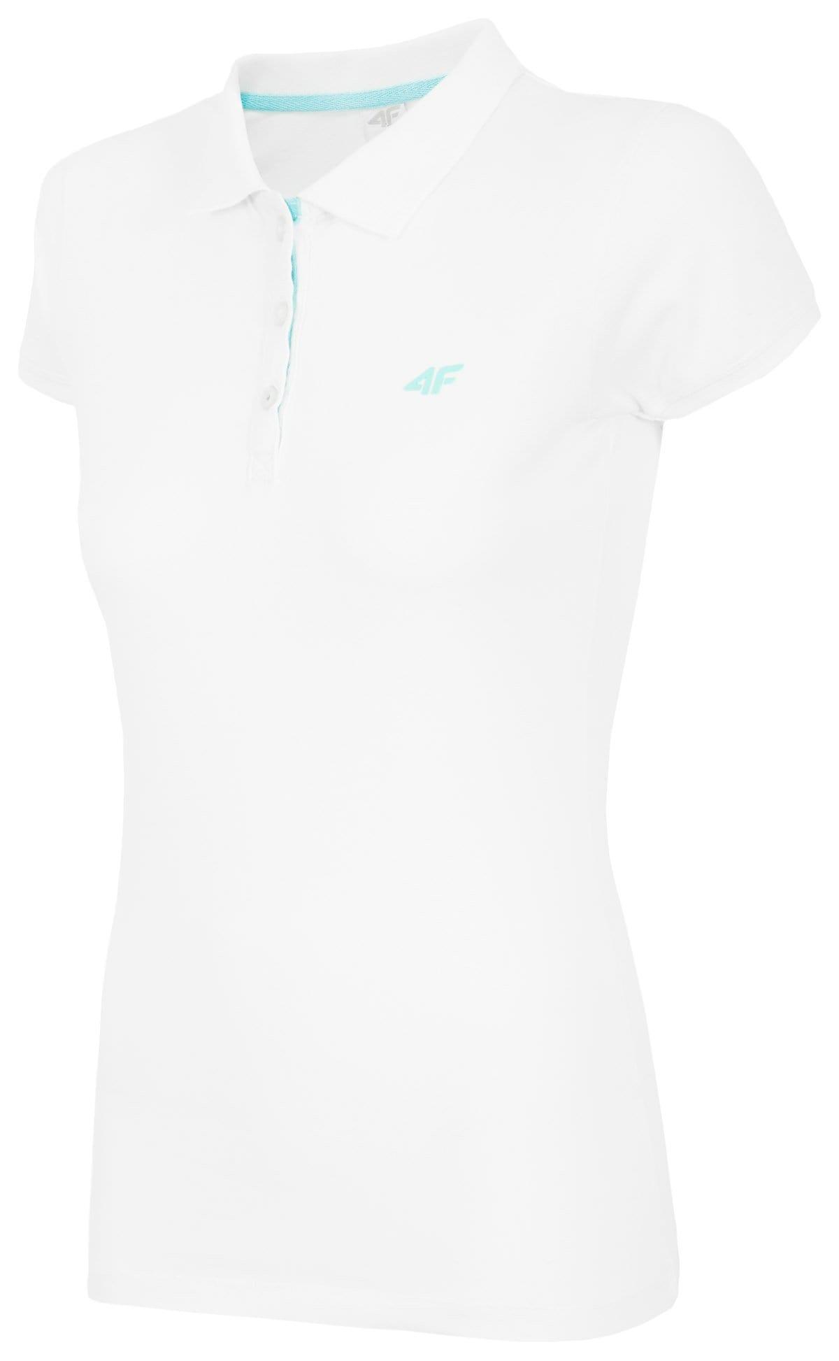Koszulka polo damska TSD017 - biały