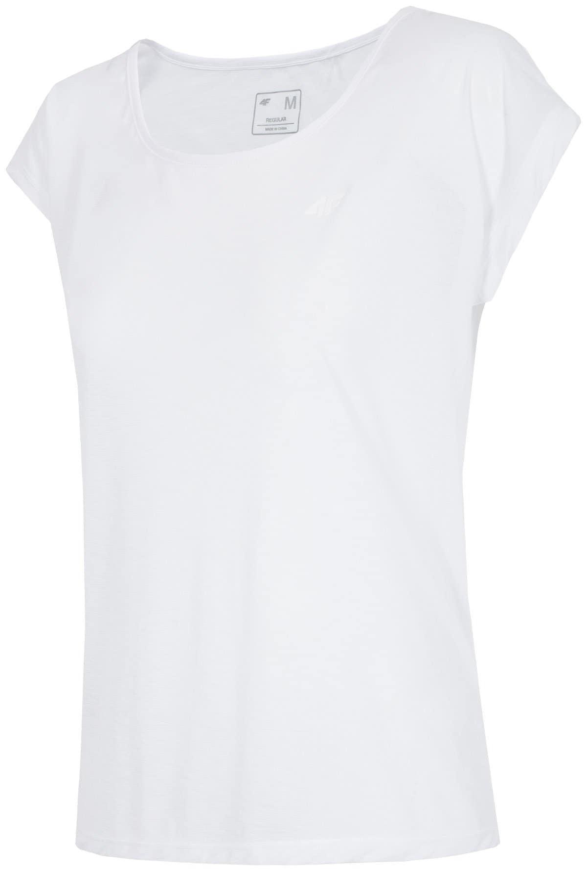 Koszulka treningowa damska TSDF251 - biały