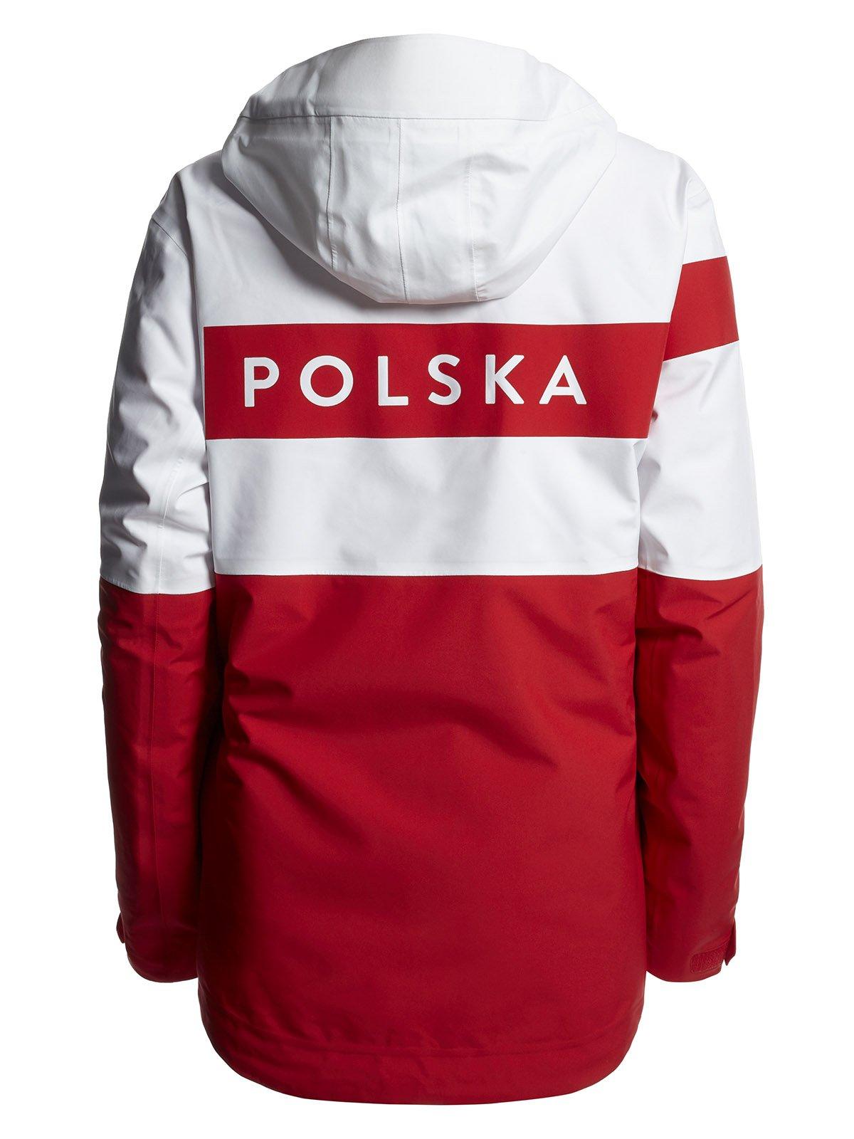 d76753e76aa85 Kurtka funkcyjna 3w1 męska Polska Pyeongchang 2018 KUM900R - biały