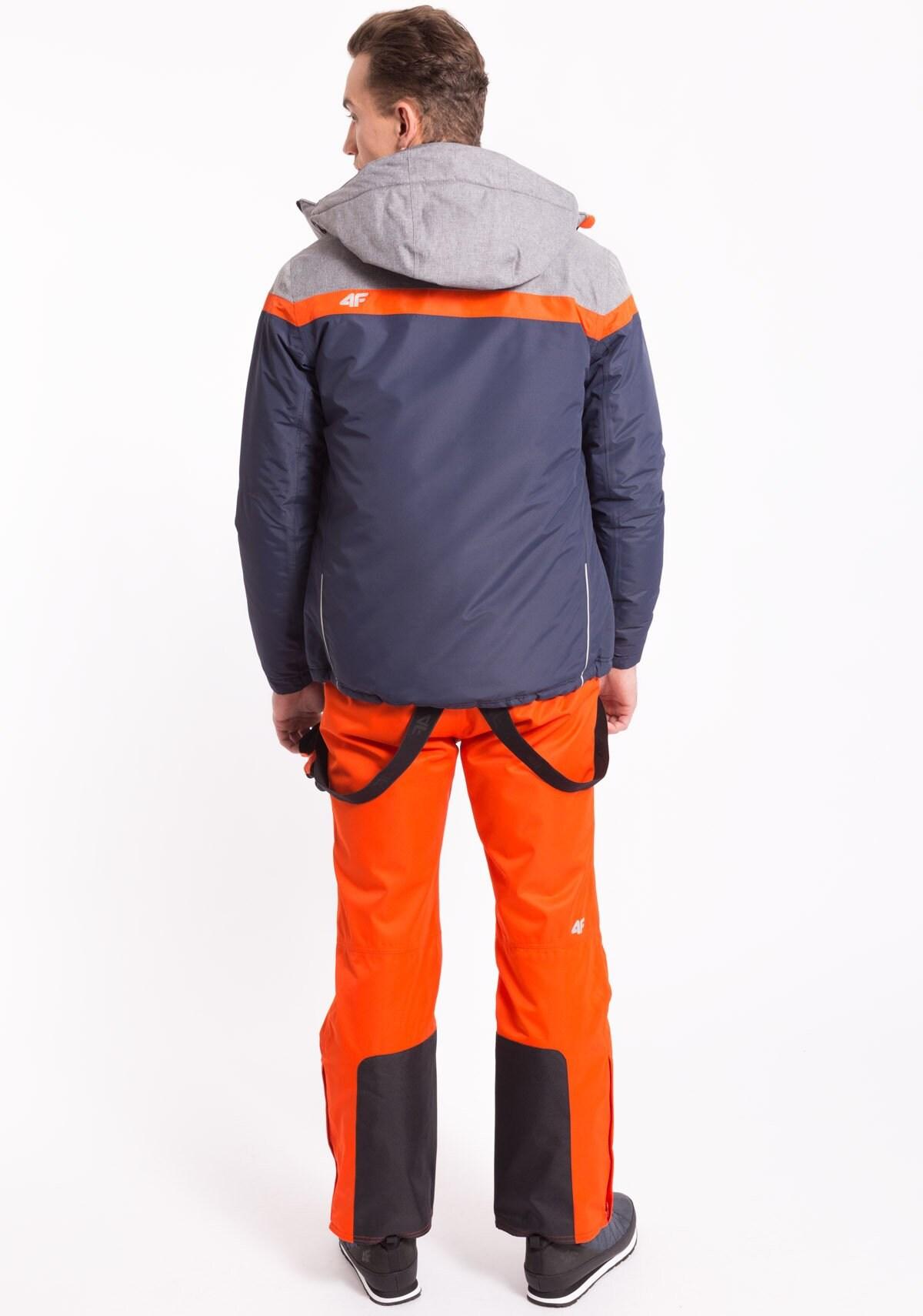 Kurtka narciarska męska KUMN003z granatowy ciemny