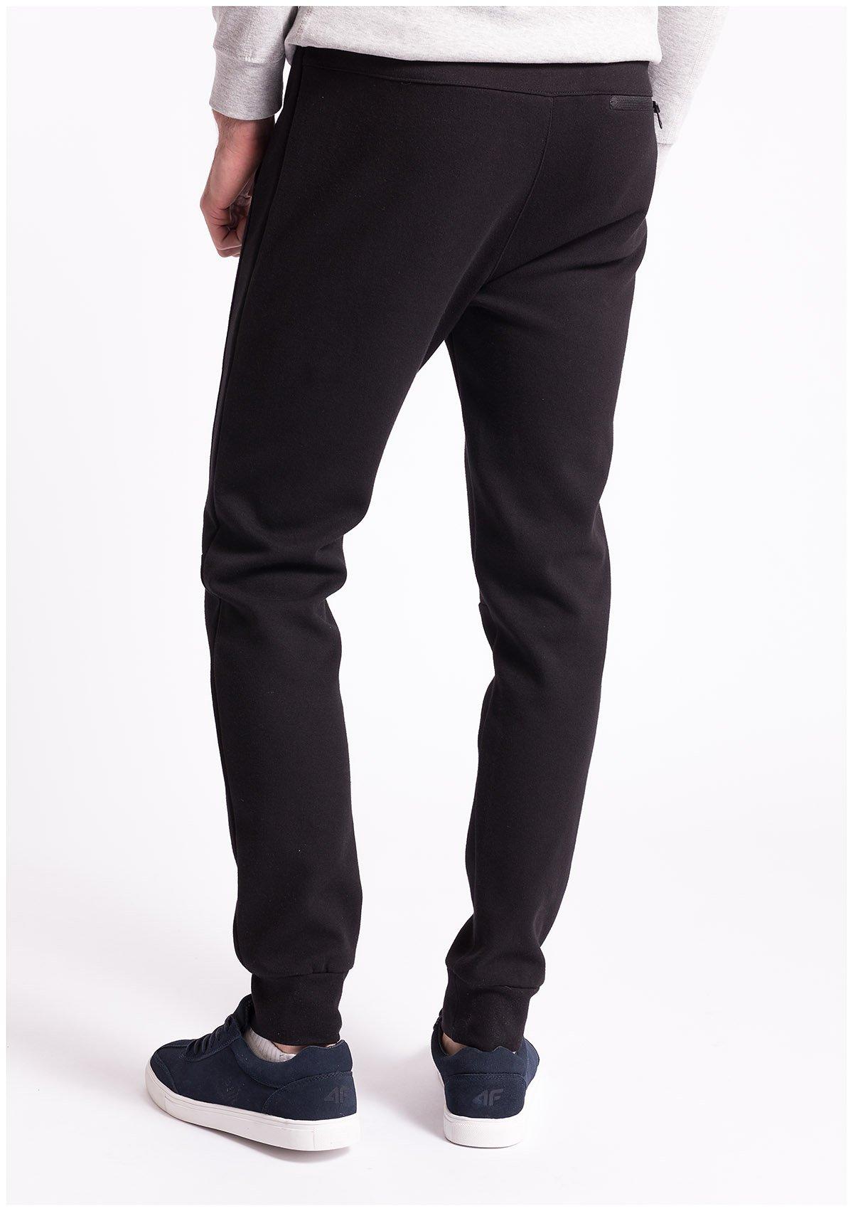 badd8c9b3 Spodnie dresowe męskie SPMD256Z - czarny