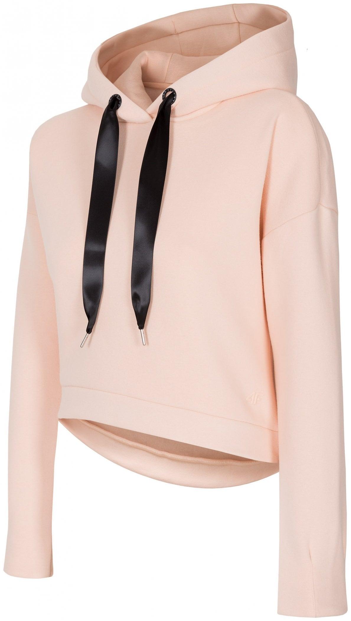 Bluza damska BLD257 - jasny róż melanż