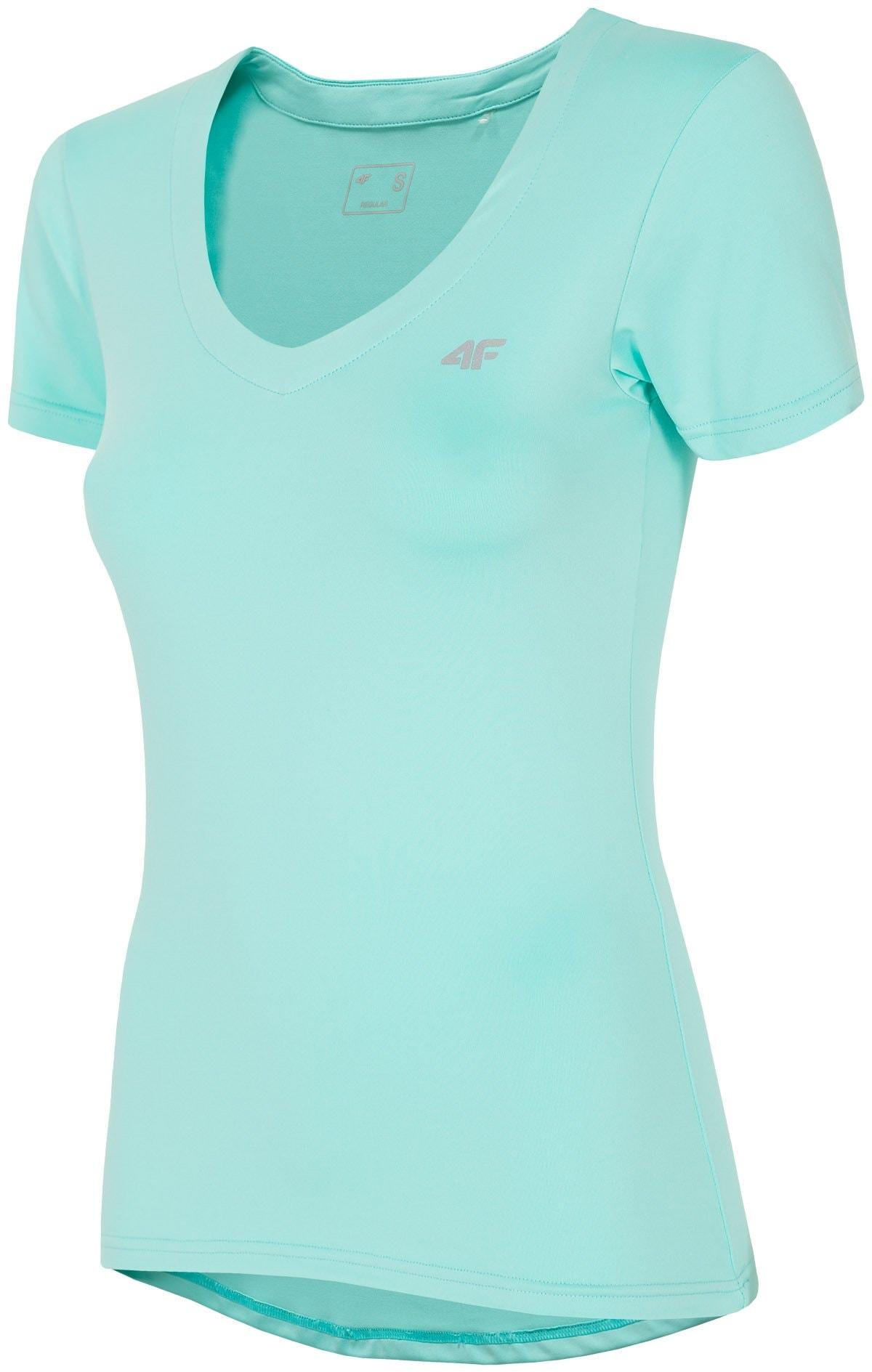 Koszulka treningowa damska TSDF300 - mięta
