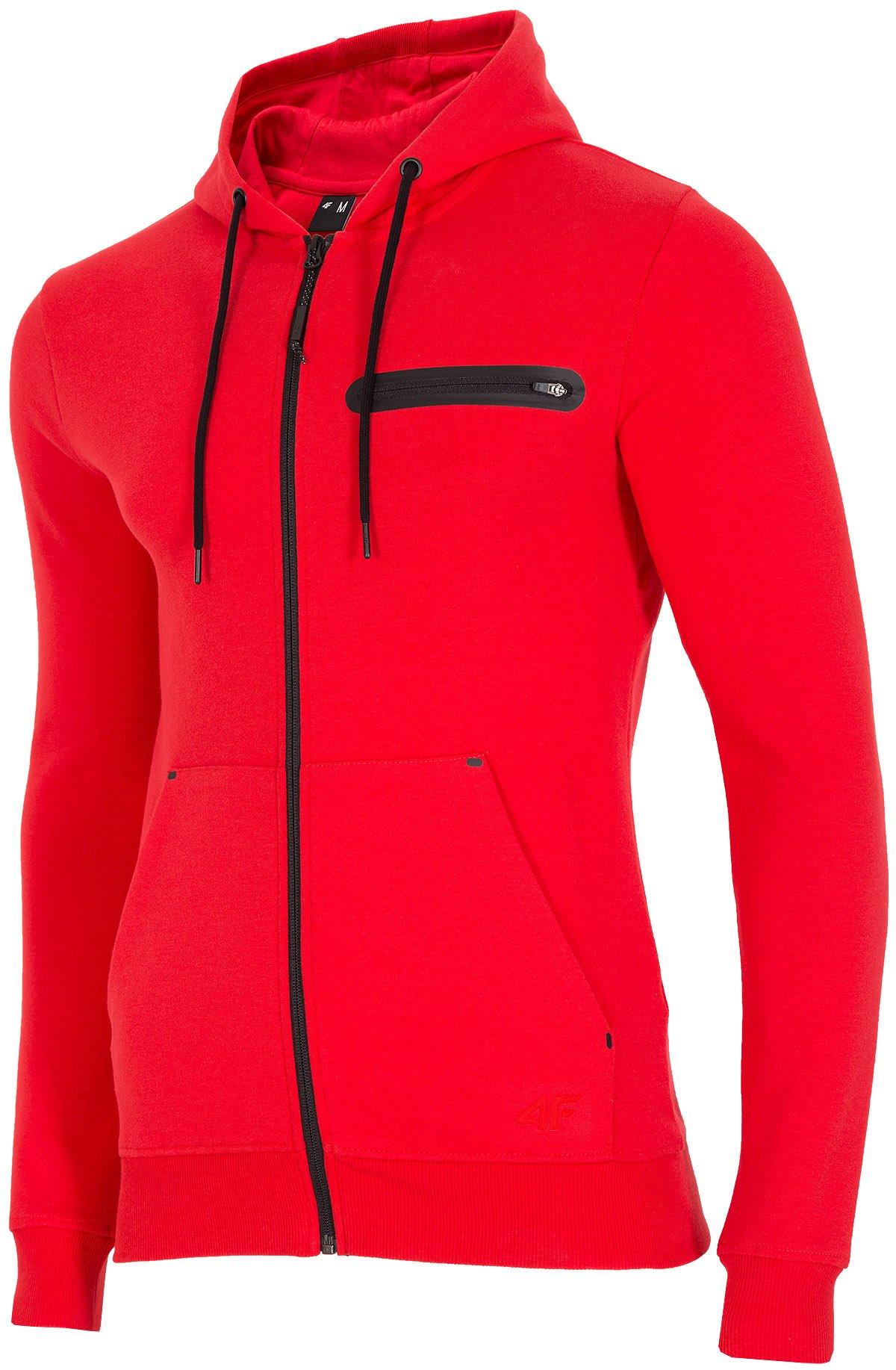 Bluza męska BLM300 czerwony