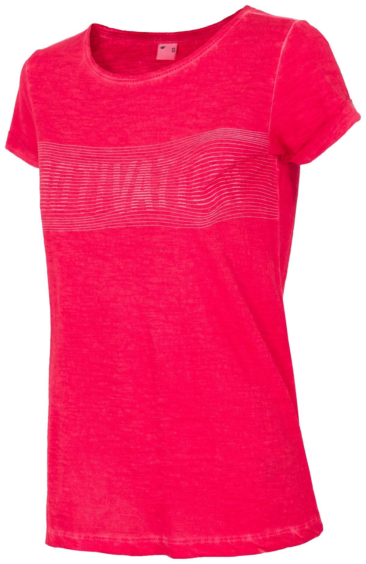 T-shirt damski TSD018 - czerwony