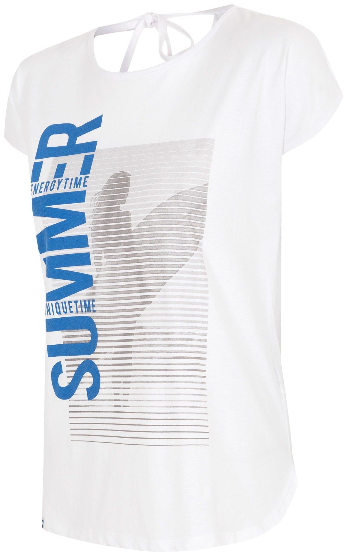 T-shirt damski TSD016 - biały