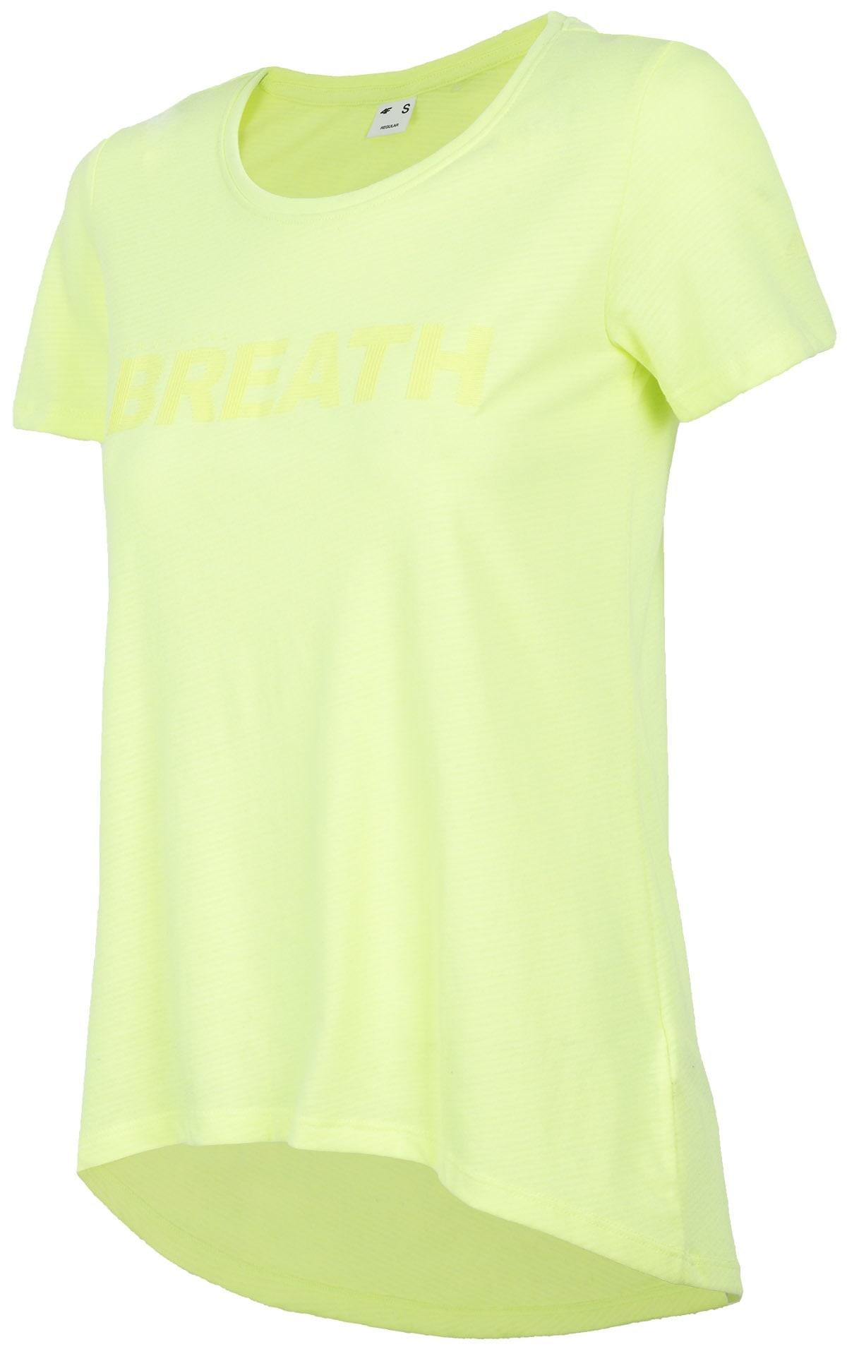 T-shirt damski TSD454 - limonka