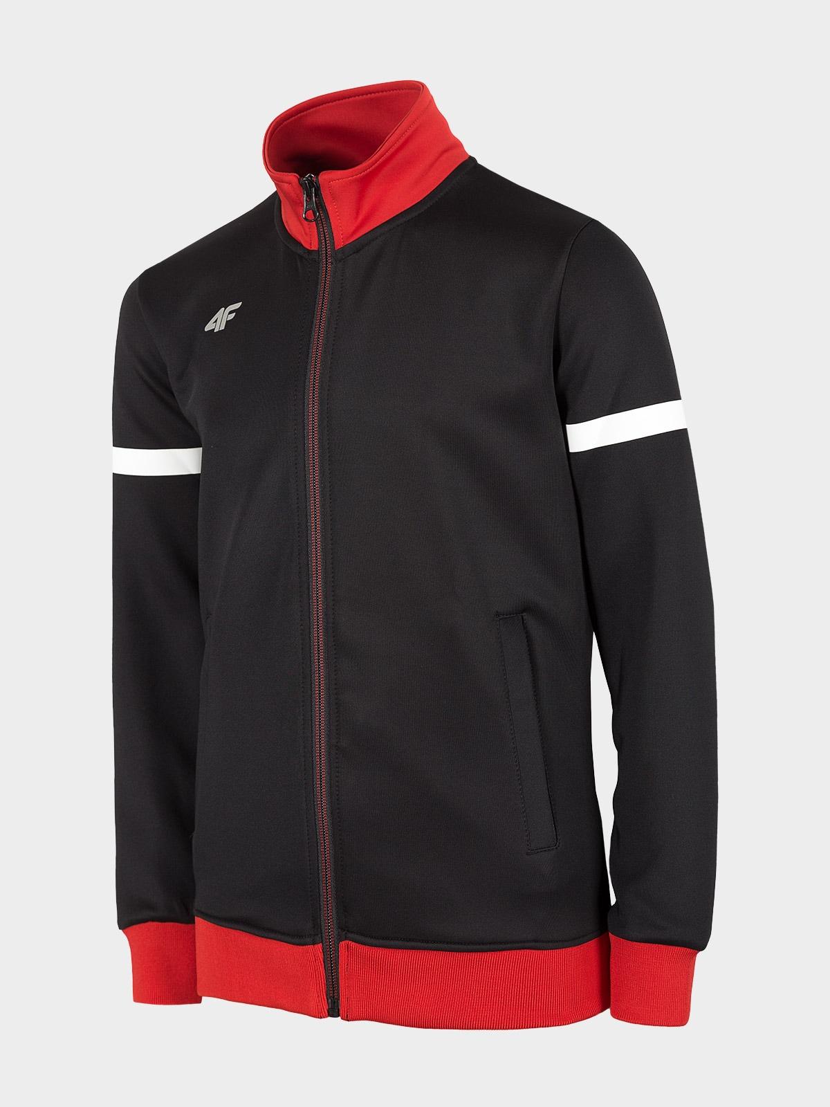 Bluza sportowa chłopięca JBLM001 - głęboka czerń