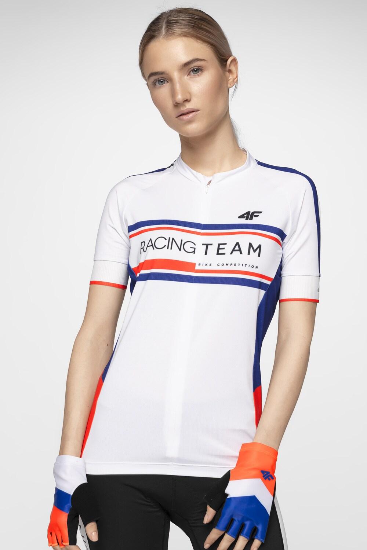 Koszulka rowerowa damska RKD152A biały