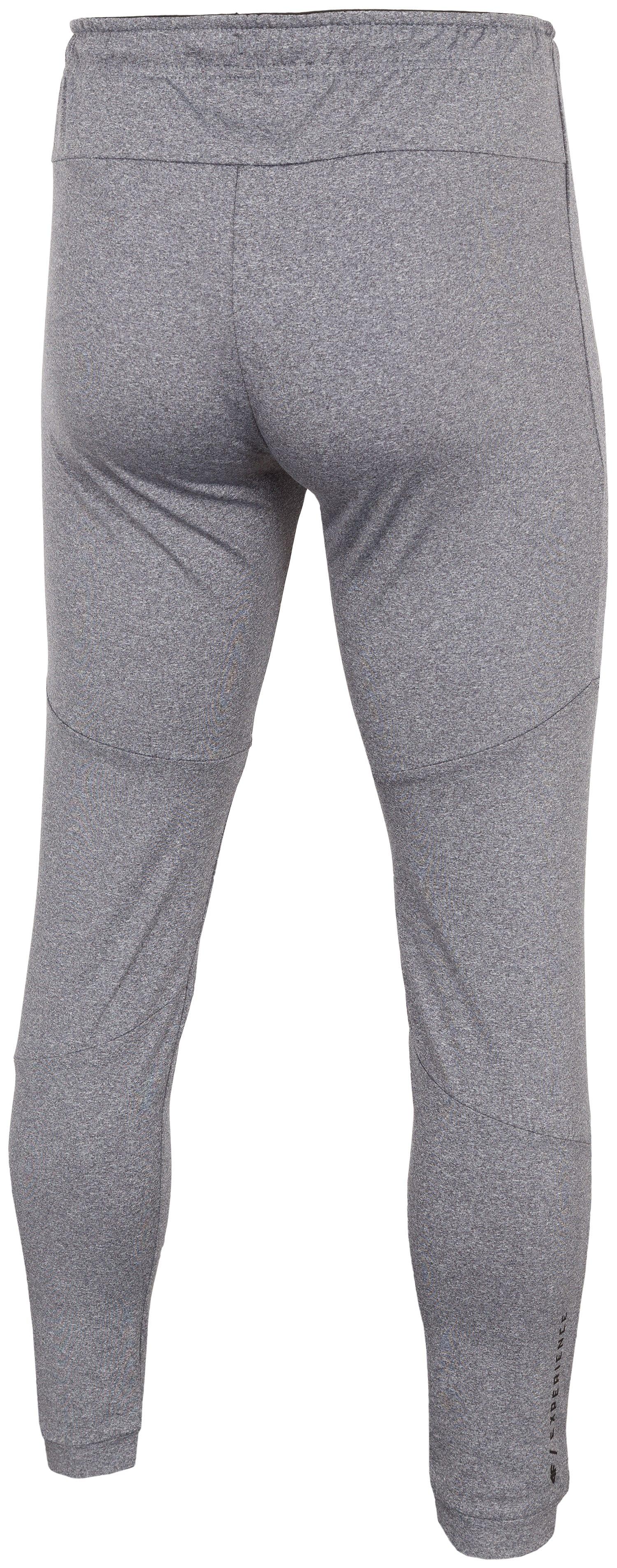 a6b0c74b9 Spodnie treningowe męskie SPMTR271 - średni szary melanż