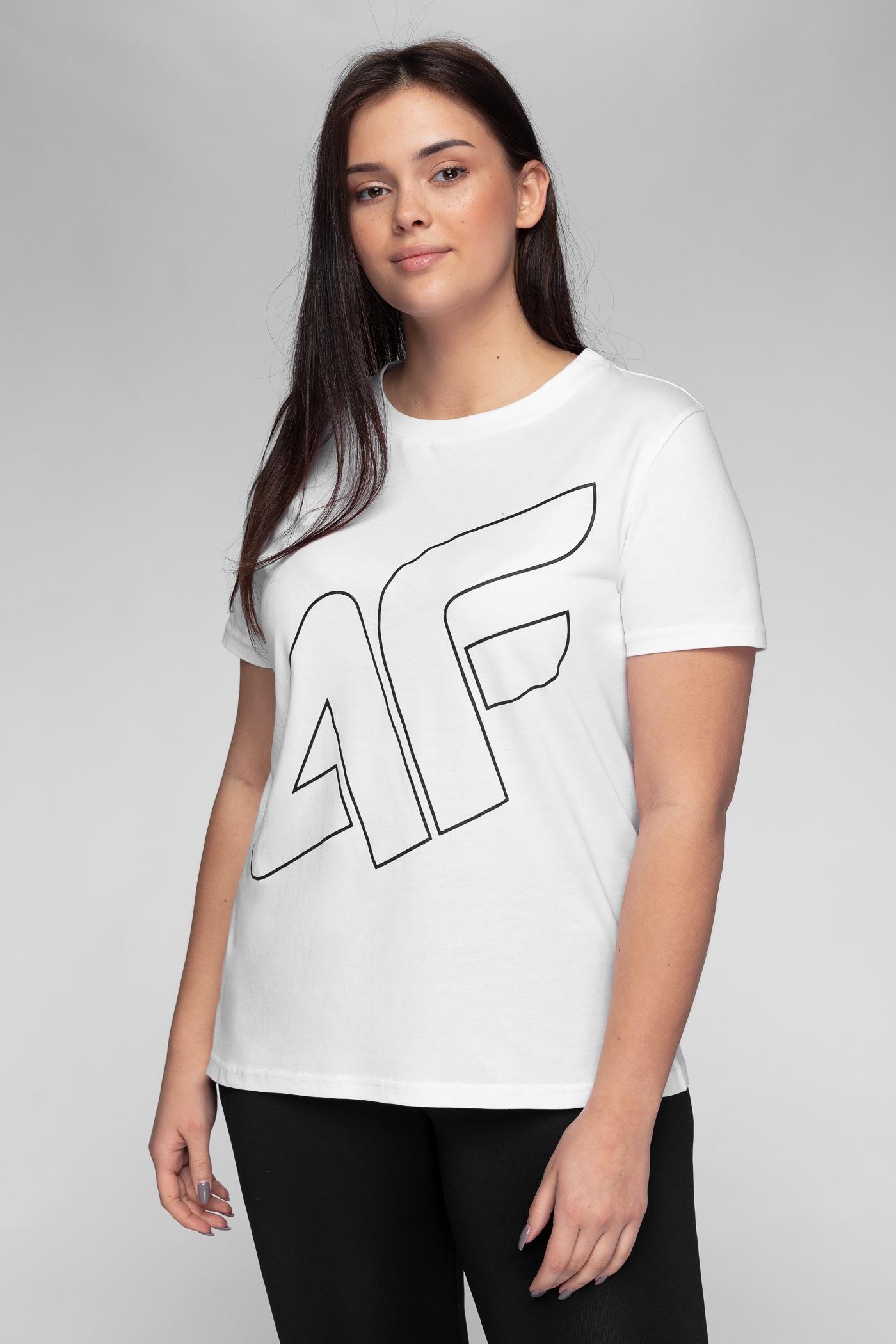 T-shirt damski TSD247 - biały