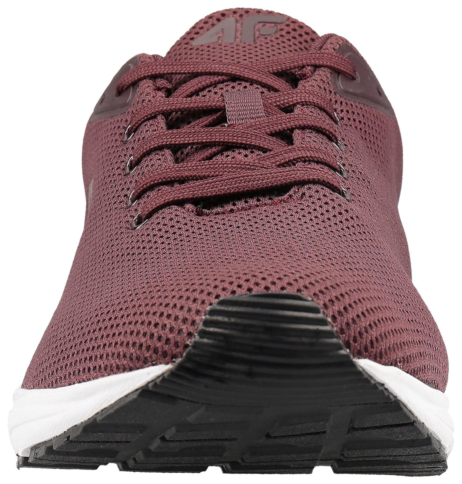 Buty sportowe męskie OBMS300 ciemna czerwień