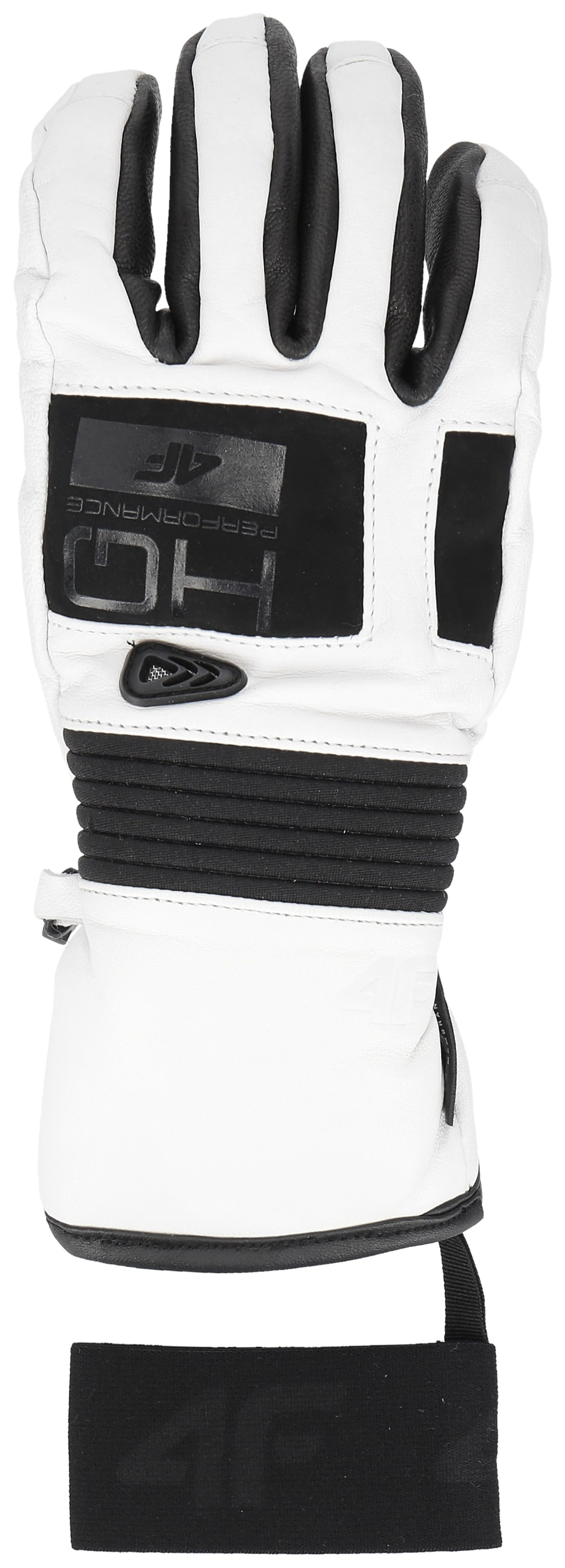 Rękawice narciarskie damskie RED151 - biały