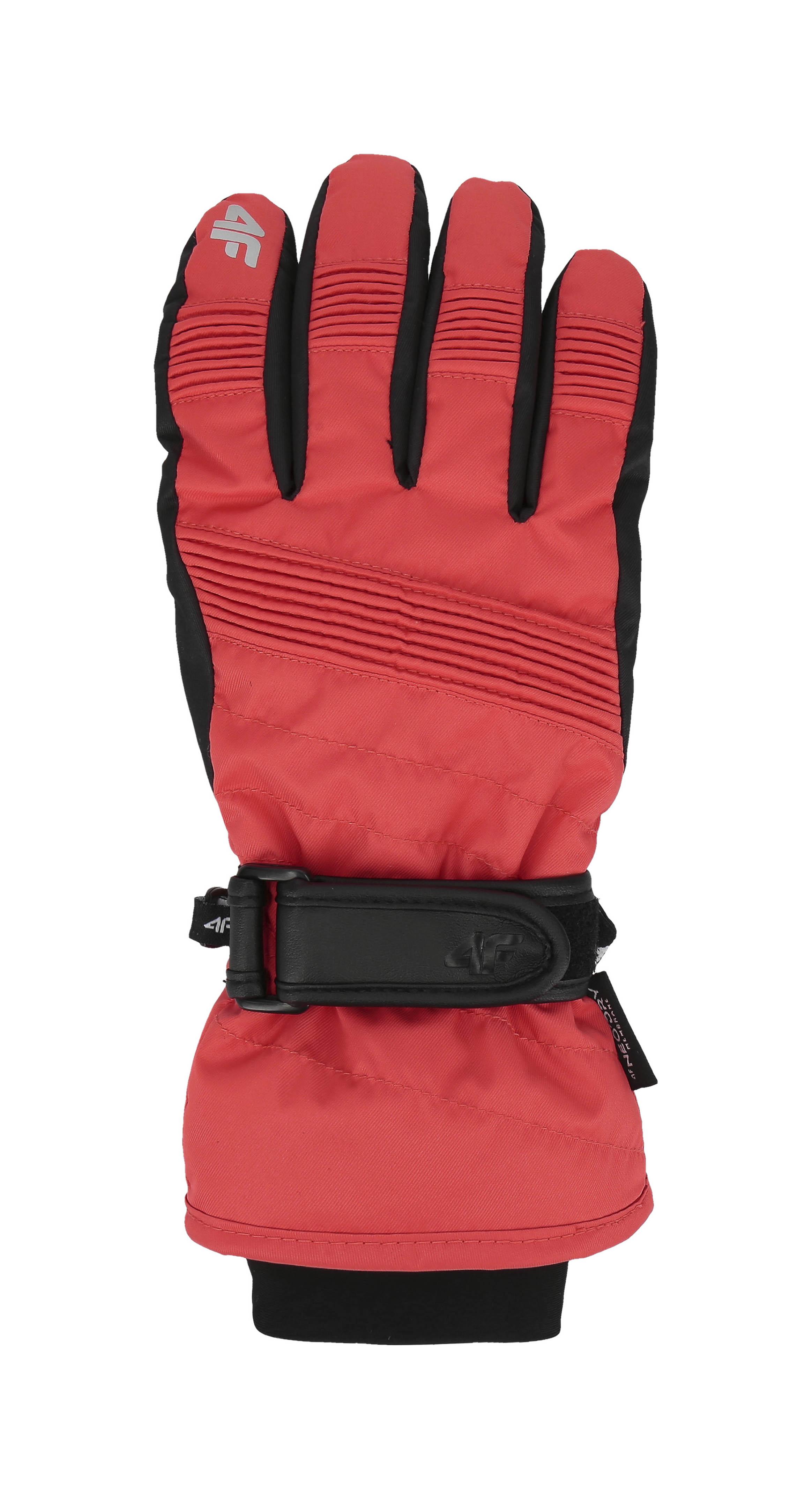 Rękawice narciarskie damskie RED252 - czerwony