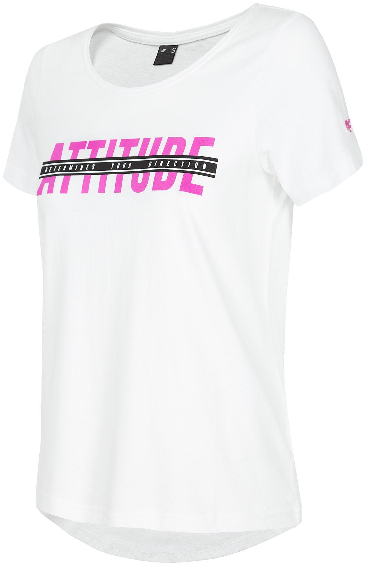T-shirt damski TSD211 - biały
