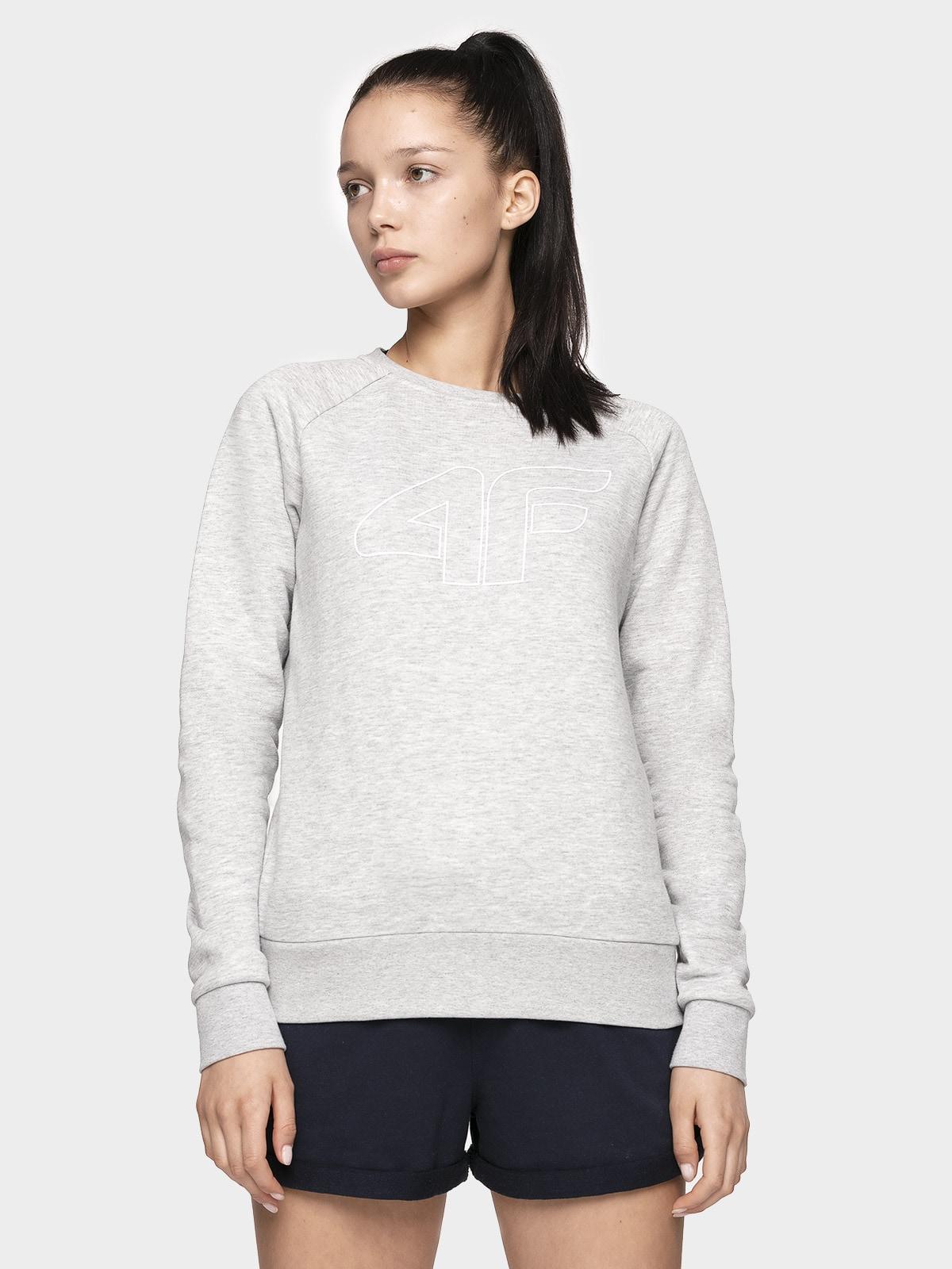 Bluza damska BLD301 - szary melanż