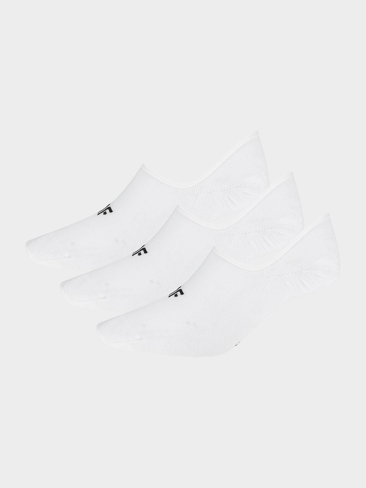 Dámské ponožky SOD301 - bílé+bílé+bílé -