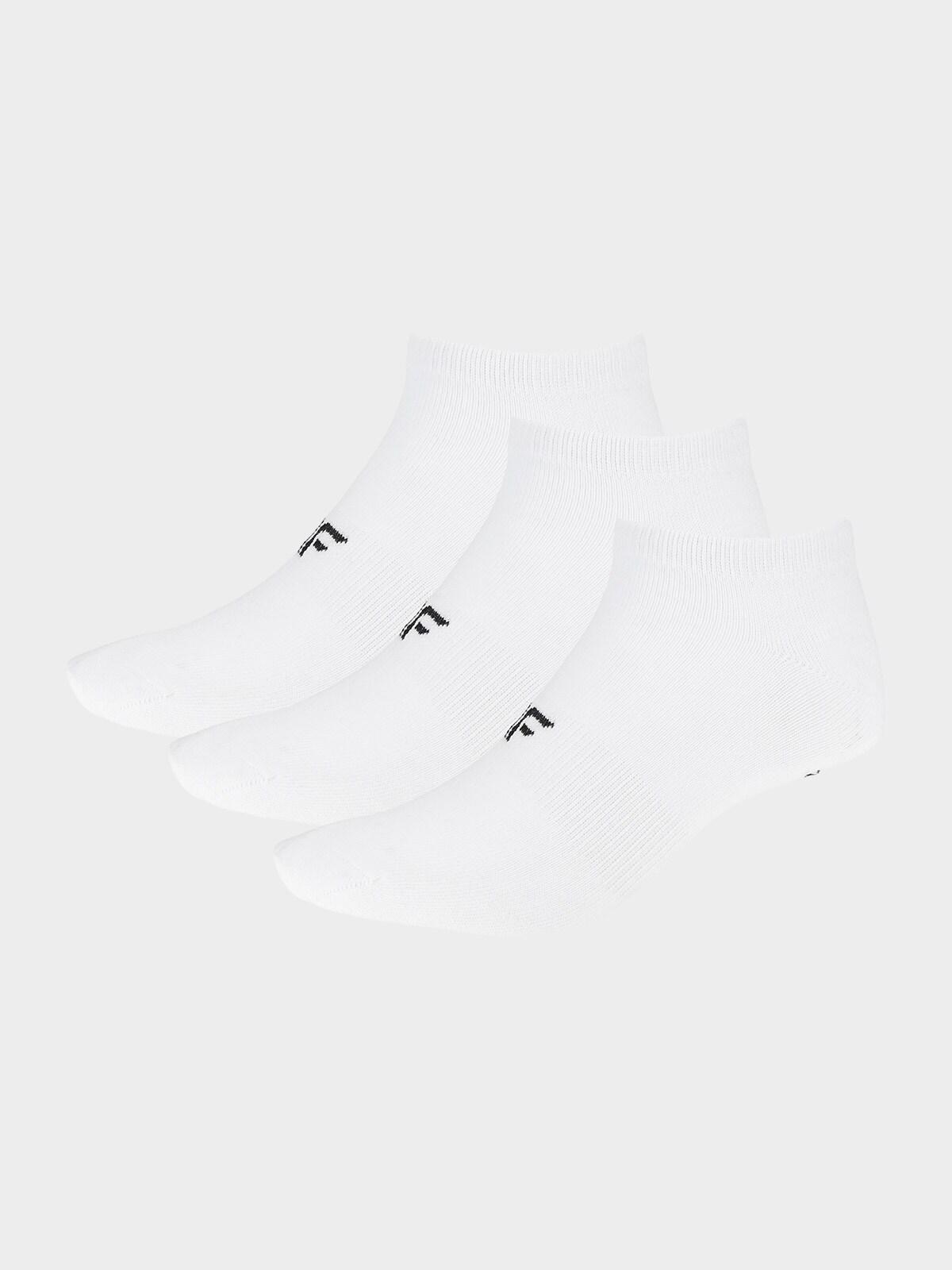 Dámské ponožky SOD302 - bílé+bílé+bílé -