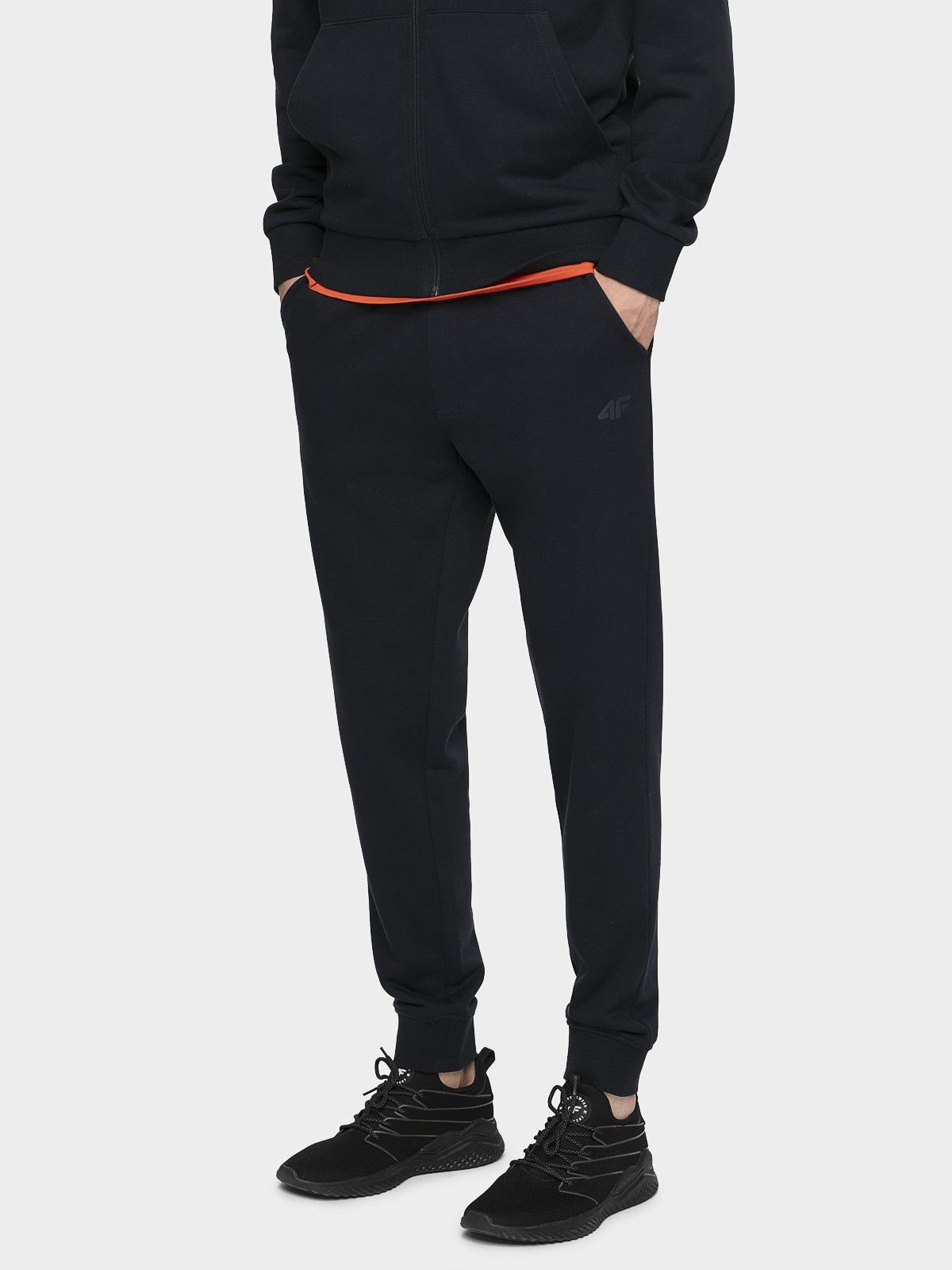 Pantaloni de molton pentru bărbați SPMD300 - bleumarin
