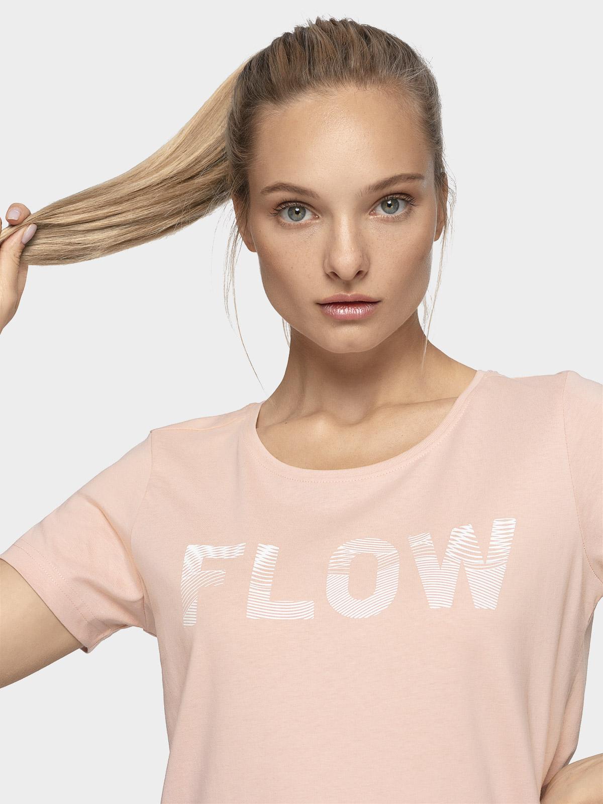 T-shirt damski TSD201 - beż