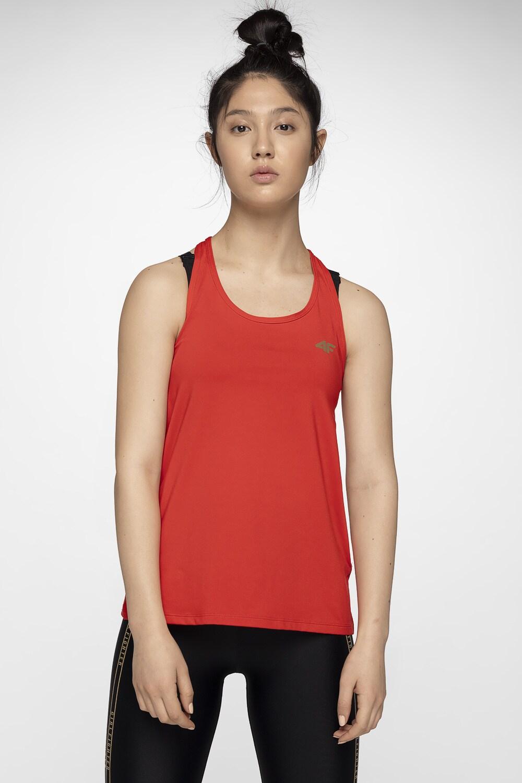 Koszulka treningowa damska TSDF001 - czerwony