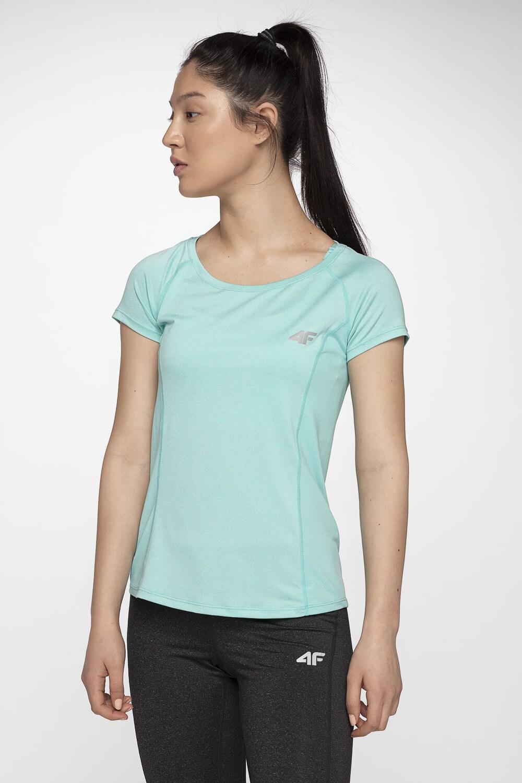 Koszulka treningowa damska TSDF002 - mięta melanż