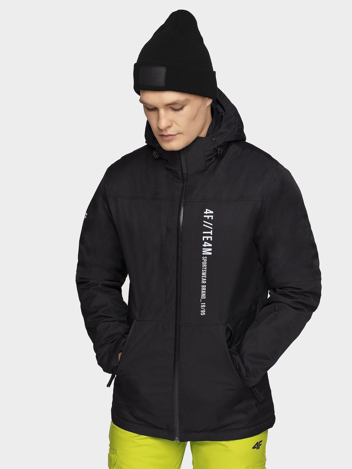 4f kurtka narciarska męska h4z19 kumn073