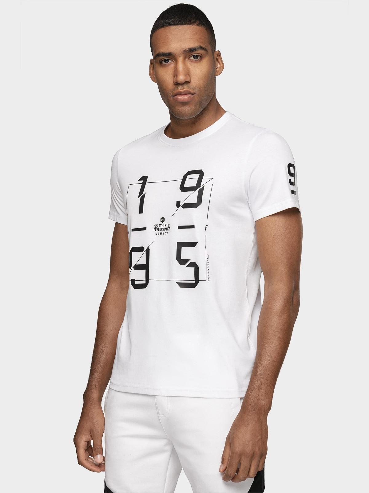 Tricou pentru bărbați TSM073 - alb