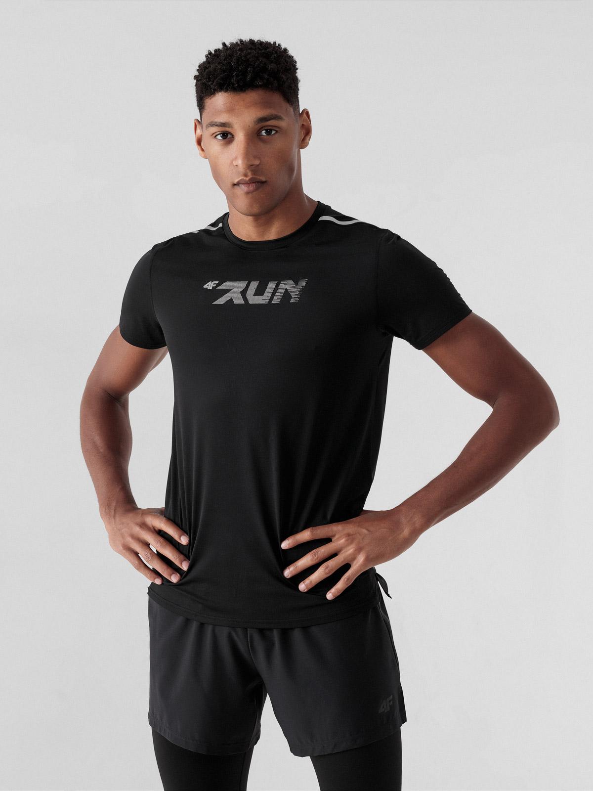Koszulka do biegania regular szybkoschnąca męska