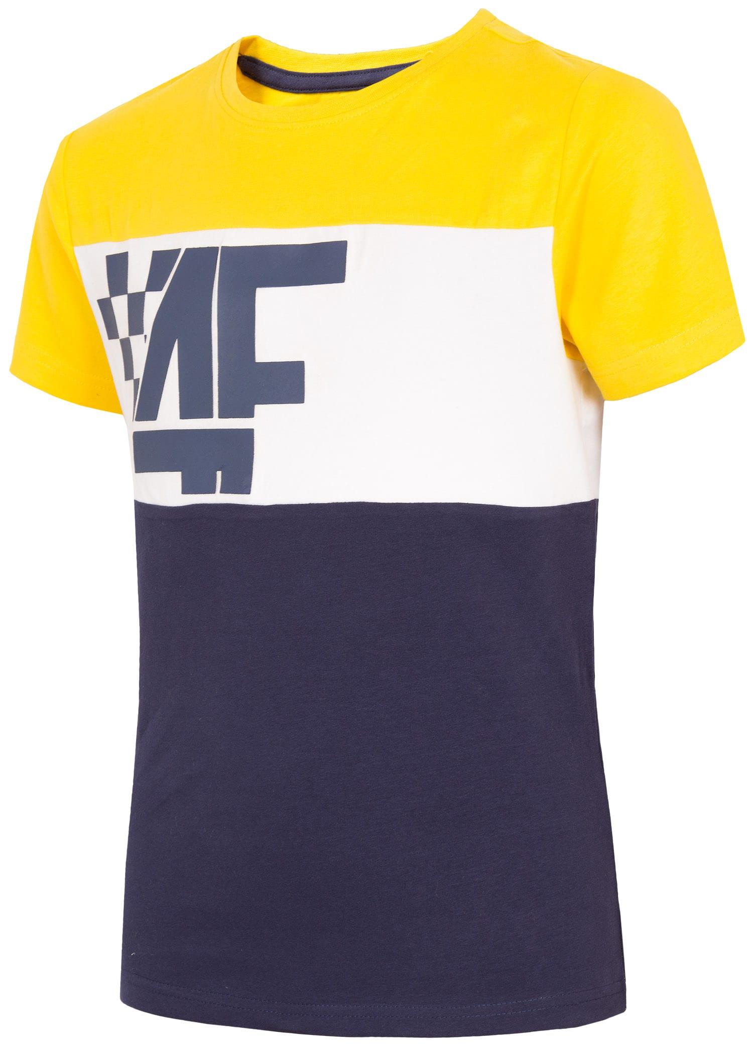 d1dd6757d Kupić.pl - 4F - T-shirt chłopięcy (122-164) JTSM206A - żółty