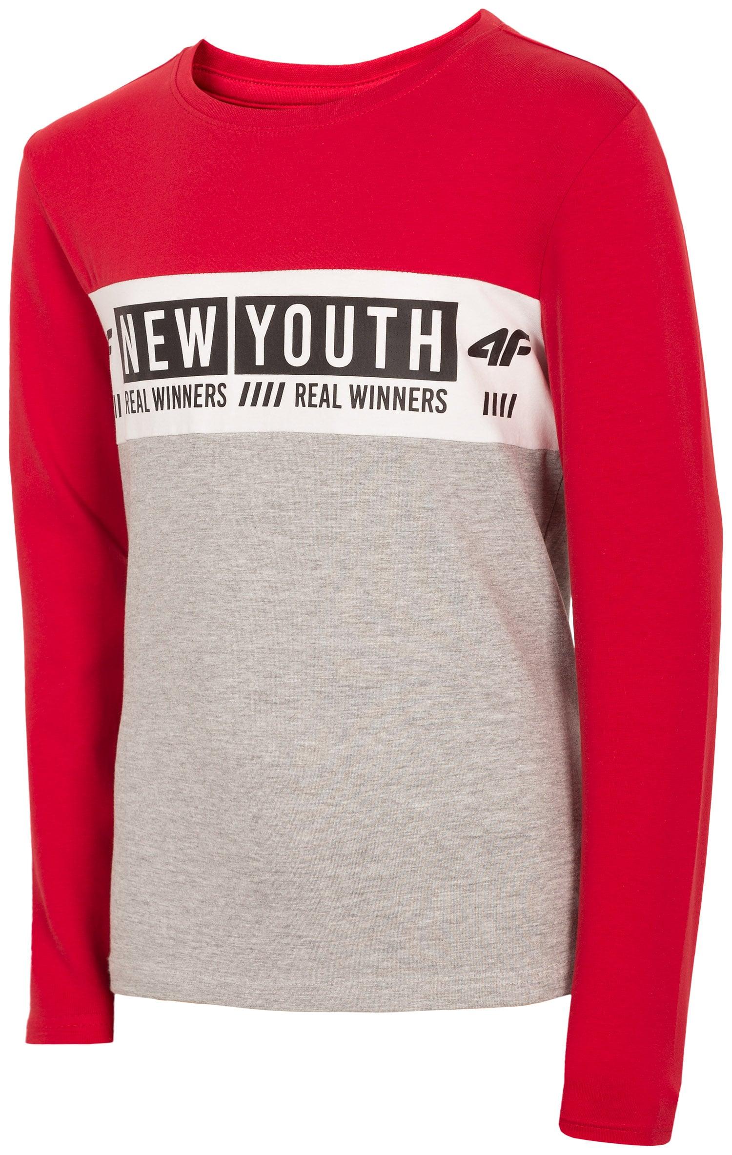 7e4ee70a5 Kupić.pl - 4F - T-shirt dla dużych dzieci (chłopców) JTSM211 - biały