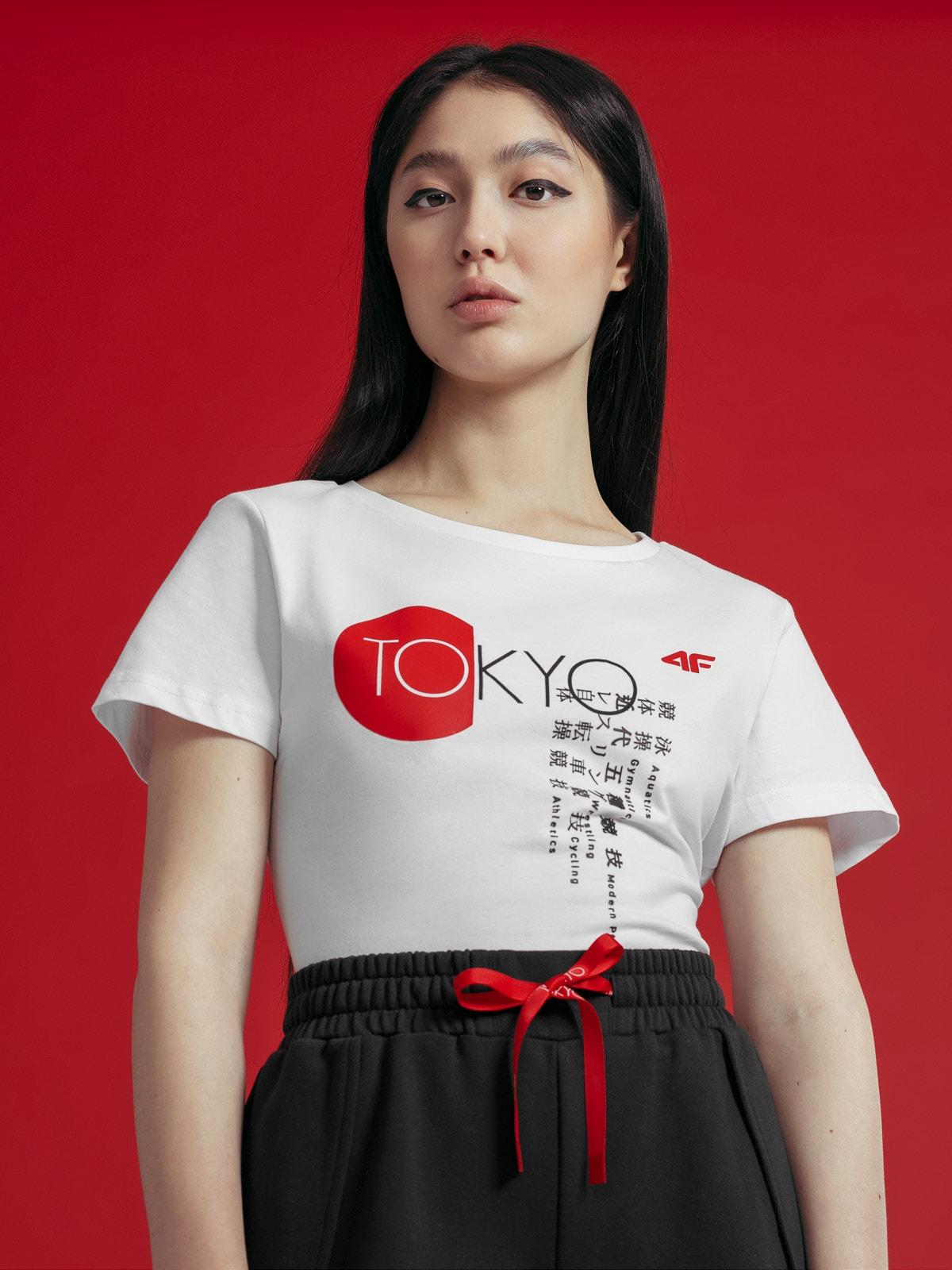 T-shirt damski z kolekcji kibica FROM PAST TOFUTURE
