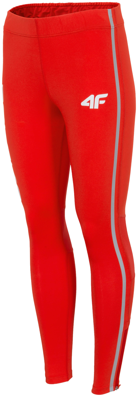 Legginsy treningowe damskie PZLA SPDTR991 - czerwony