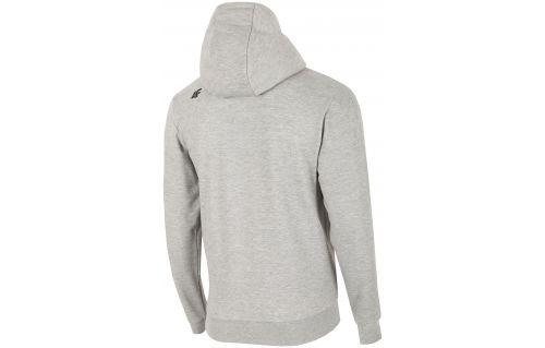 Bluza męska BLM216 - chłodny jasny szary melanż