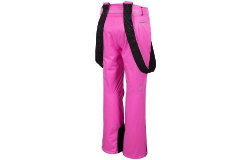 Spodnie narciarskie damskie SPDN102 - fuksja