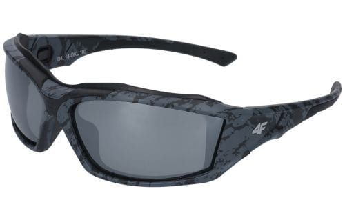 Okulary sportowe OKU103 - ciemny szary