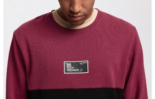 Bluza męska TSML261 - burgund