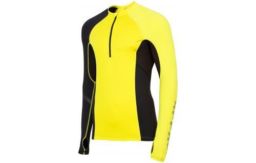 Bluza funkcyjna męska 4FPro Skirunning BLMF400 - żółty