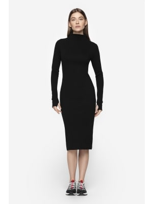 668be24993 Women s midi dress SUDD701 - deep black