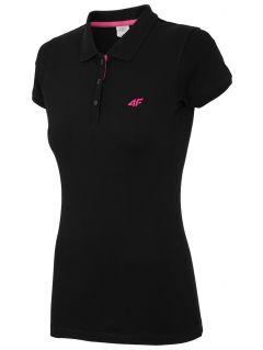 Koszulka polo damska TSD017 - czarny