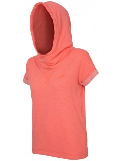 Bluza damska BLD001 - neon koral melanż