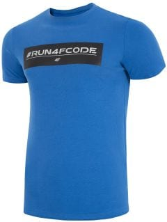 T-shirt męski TSM008z - kobalt
