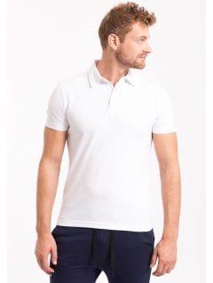 Koszulka polo męska TSM050Z - biały