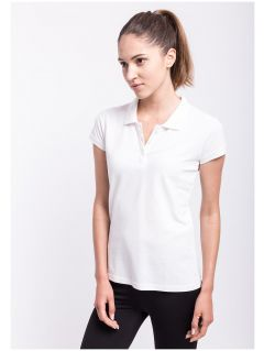 Koszulka polo damska TSD051AZ - BIAŁY