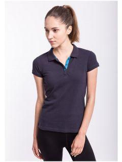 Koszulka polo damska TSD051AZ - GRANATOWY