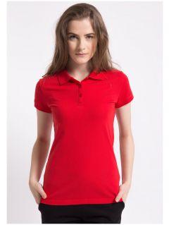 Koszulka polo damska TSD051AZ - CZERWONY