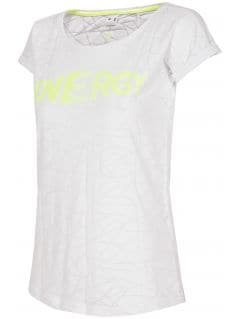 T-shirt damski TSD019 - biały