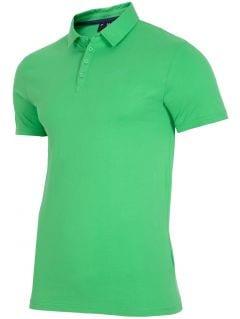 Koszulka polo męska TSM015 - zielony